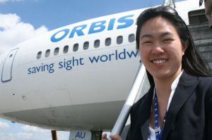 ORBIS Flying Eye Hospital has directly treated more than 9.7 million people.