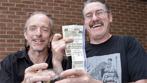 Laid-off workers win lottery. (Montreal Gazette)