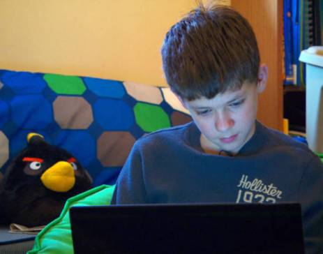 "Seen here is 12-year old boy Noah Lamaide who helped to raise $10,500 thereby saving his grandmother's home from foreclosure.""Image from http://i.i.com.com/cnwk.1d/i/tim/2012/02/10/eve_0210_HARTMAN_480x360.jpg"""
