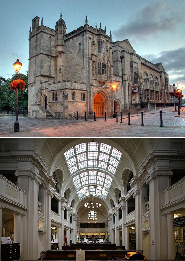 Bristol Central Library, Bristol, UK
