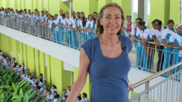 "Catalina Escobar is helping young moms in Colombia, where one in five girls age 15-19 is or has been pregnant. Since 2002, her foundation has provided counseling, education and job training to more than 2,000 teenage mothers. ""Teenage pregnancy is a world poverty problem, and we have developed models of intervention that break the cycle,"" Escobar said. ""I want to share it with people around the world."""