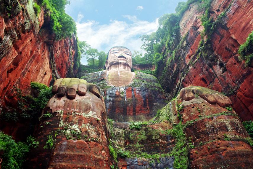 Leshan China, Buddha